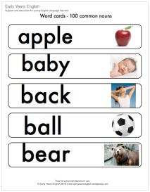 common nouns illustrated