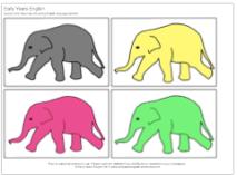 elephant color vocab