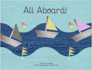 all aboard!