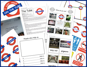 A huge haul of free tube-related language and literacy this week!