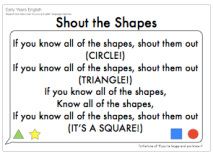 shapes song